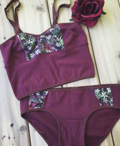 red cotton set