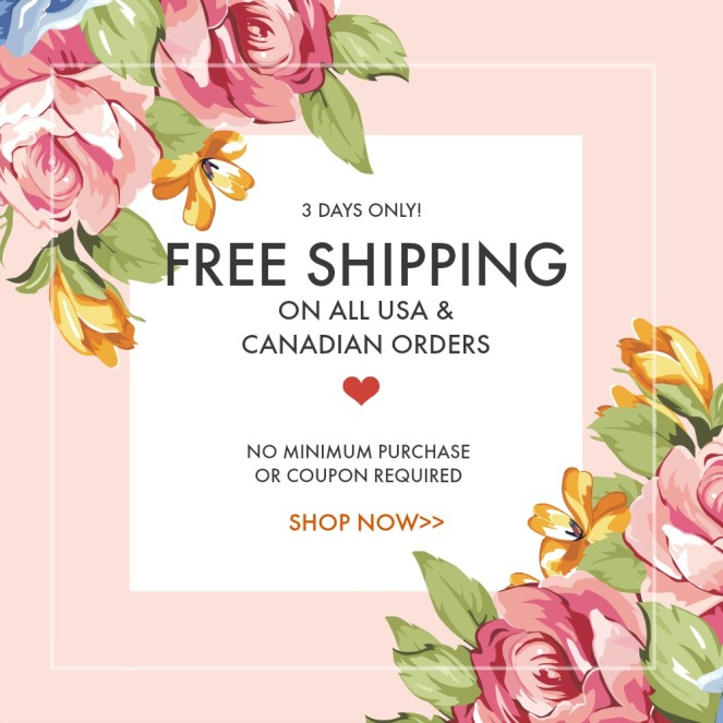 MAY PROMO FRE SHIPPING